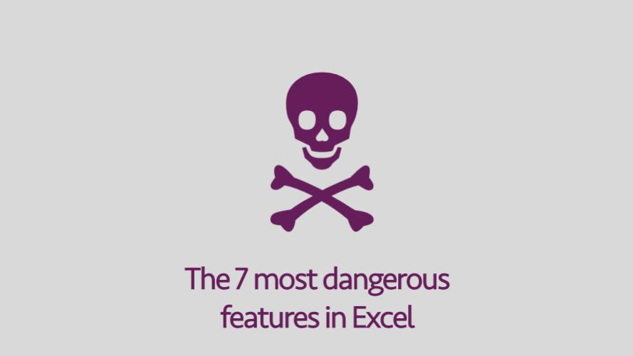 7 công cụ mạnh mẽ nhưng nguy hiểm trong Excel